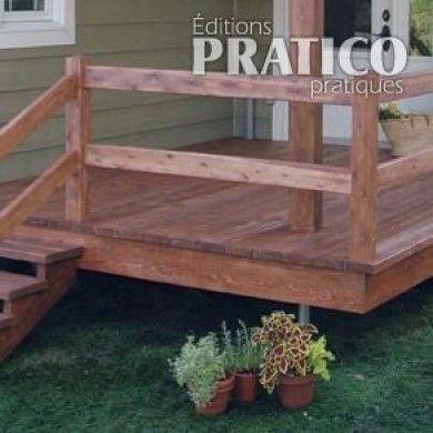 Fabriquer escalier et garde-corps pour le patio - En étapes - Jardinage et extérieur - Pratico Pratique