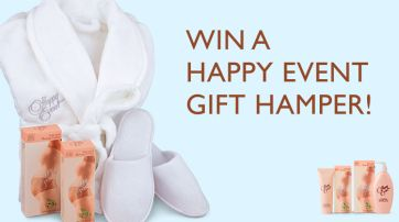 Win 1 Of 5 Happy Event Gift Hampers!