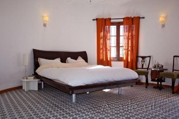 Cement tiles Bedroom - Azule 01 Maroc - Project van Designtegels.nl