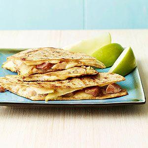 Ham swiss and apple quesadillas | Favorite Recipes | Pinterest