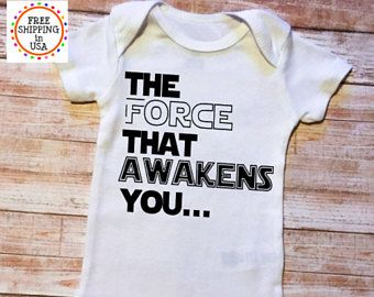 Funny Baby Onesie, Baby Shower Gift, Star Wars Onesie, Baby Gift, The