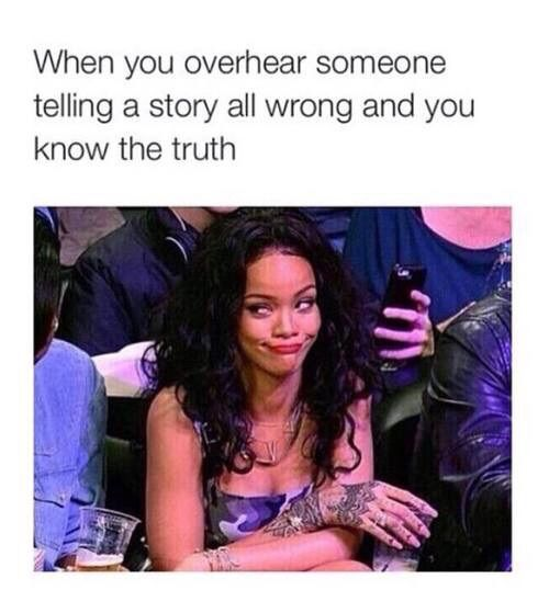 rihanna funny and quote image Funny Tings Pinterest