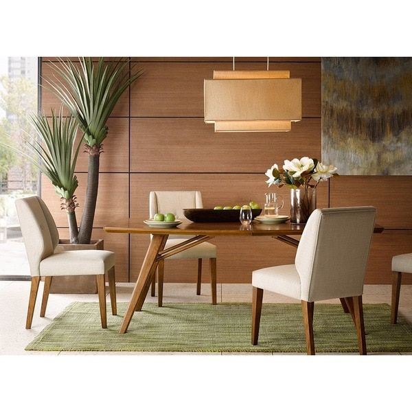 INK+IVY Wynn Pecan Dining Table