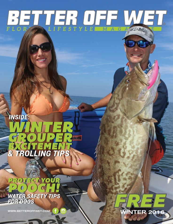 Capt. Jimmy and Luiza Featured on Cover of Better Off Wet | SeaDek Marine Products Blog