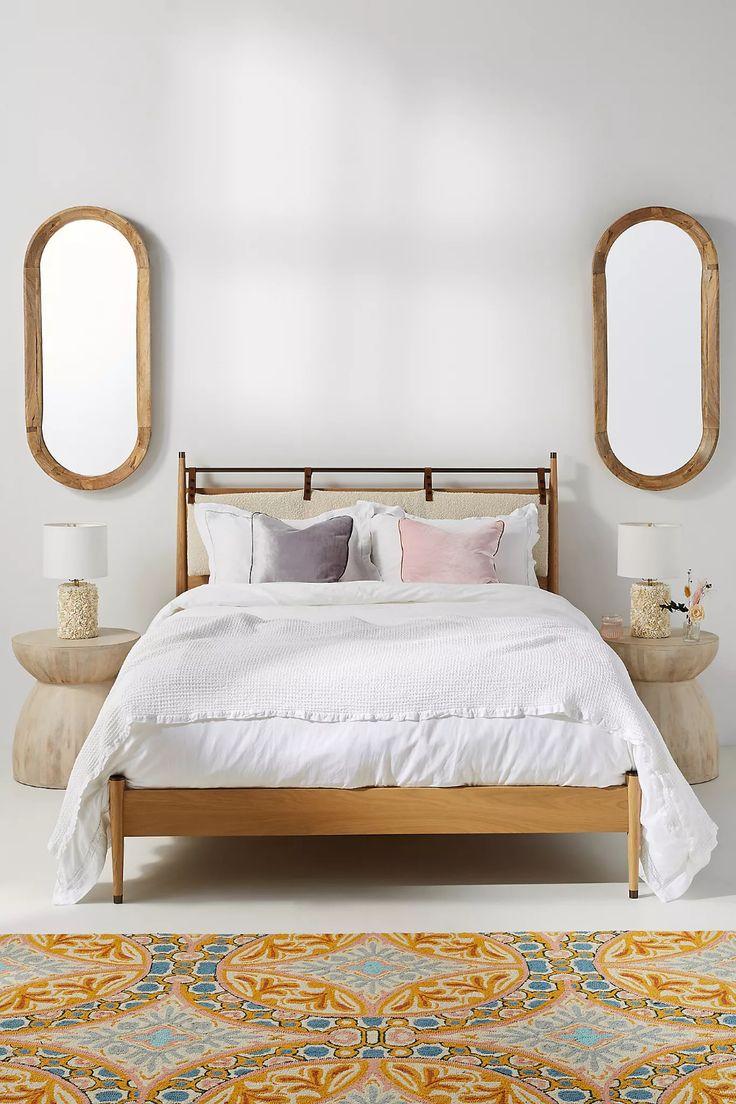 Hemming Bed in 2020 Cushion headboard, Minimalist bed