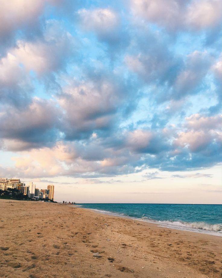 Monday blues have a different meaning when in Miami! Photo by @borsadimarypoppins #SoMiami #miamiskies #grandbeachmiami