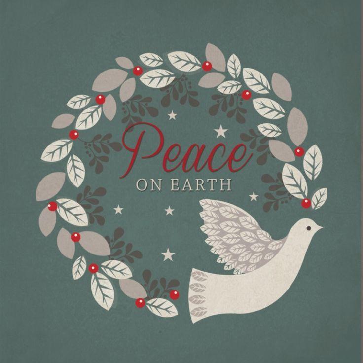Peace on Earth Tearfund Charity Christmas Cards
