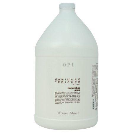 OPI Manicure Pedicure Cucumber Soak, 1 Gallon