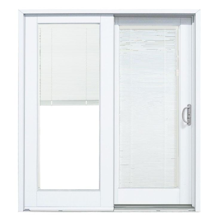 Sliding Patio Doors With Blinds Inside