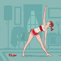 A 10-minufte post-run yoga sequence that will improve your range of motion and prevent injury.
