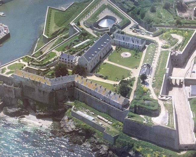 The Vauban Citadel in Le Palais, Belle-Île, owned by Nicolas Fouquet (The Man in the Iron Mask by Alexandr Dumas)