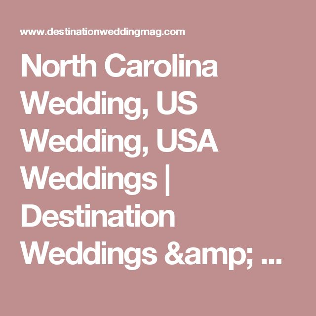 Best 25 destination wedding usa ideas on pinterest wedding best wedding destinations in the us outer banks north carolina junglespirit Image collections