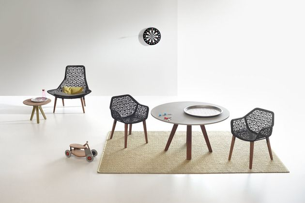 kettal maia rope furniture collection by patricia urquiola, Möbel