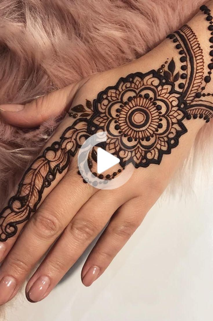 32 Free Henna Tattoo Design You Can Do Best Henna Drawings At Home New 2019 Page 11 Of 32 In 2020 Henna Tattoo Designs Henna Drawings Henna Designs Hand