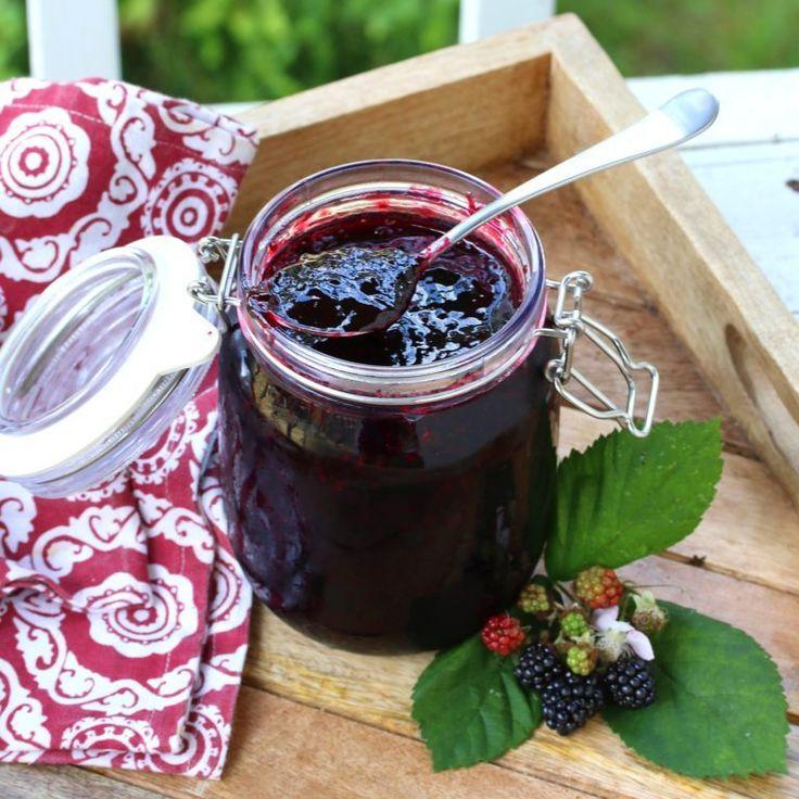 Blackberry jam recipe homemade blackberry jam a food