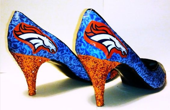 Denver Broncos heels