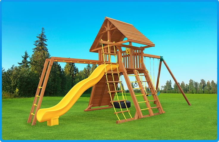 1000 images about extreme swing sets on pinterest for Swing set supports
