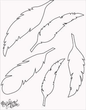 free printable feather template by leta.g.coe More