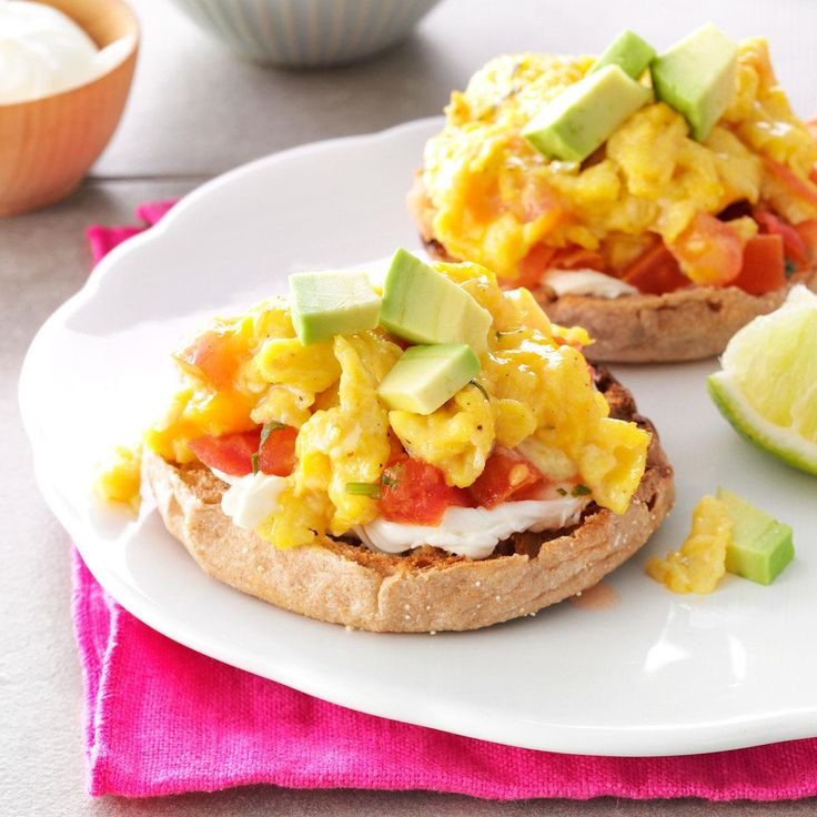 Salsa & Scrambled Egg Sandwiches Recipe -Power up with a breakfast that keeps you going all morning long. In my humble opinion, this sandwich tastes so much better than anything that comes from a drive-thru! —Marcia Conlon, Traverse City, Michigan