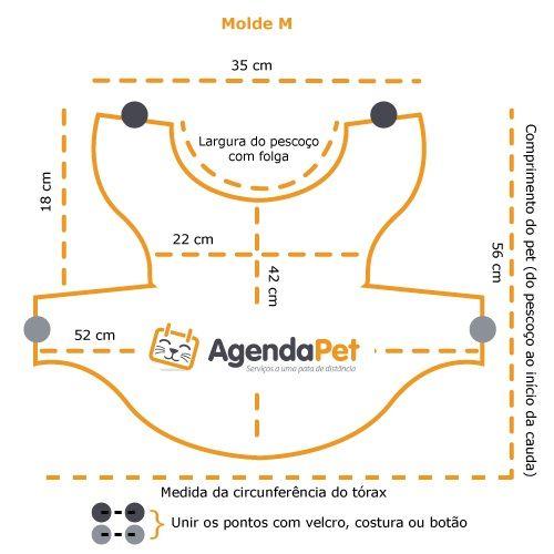 Roupas para cães: faça você mesmo, com instruções passo a passo e moldes do AgendaPet