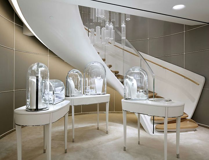 Van Cleef Arpels Flagship Store By Jouin Manku Hong Kong