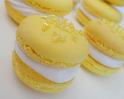 Lemon Meringue Pie Macaron Recipe from the Extraordinary Art of Cake