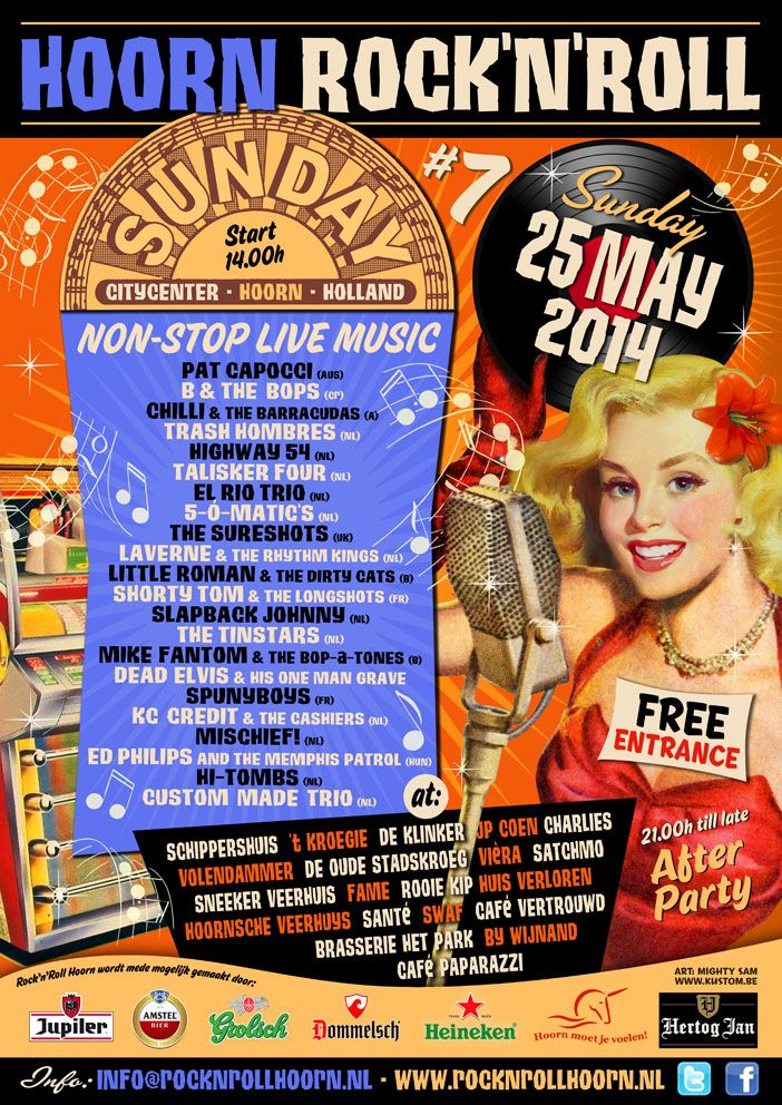 Rock 'n Roll Sunday Hoorn, Netherlands, 2014