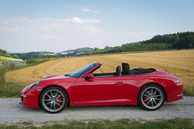 2013 Porsche 911 Carrera S Convertible red