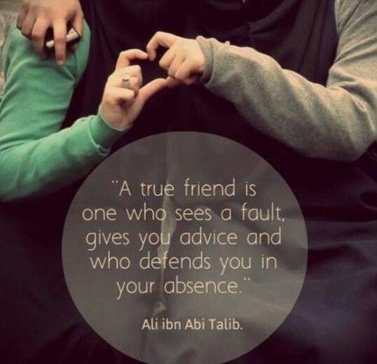 Islamic Quotes For Friendship: Ali Ibn Talib Quotes. QuotesGram