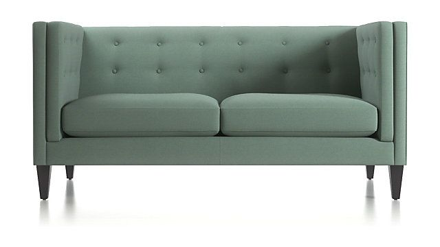 Aidan Tall Tufted Apartment Sofa In 2019 Apartment Sofa Sofa