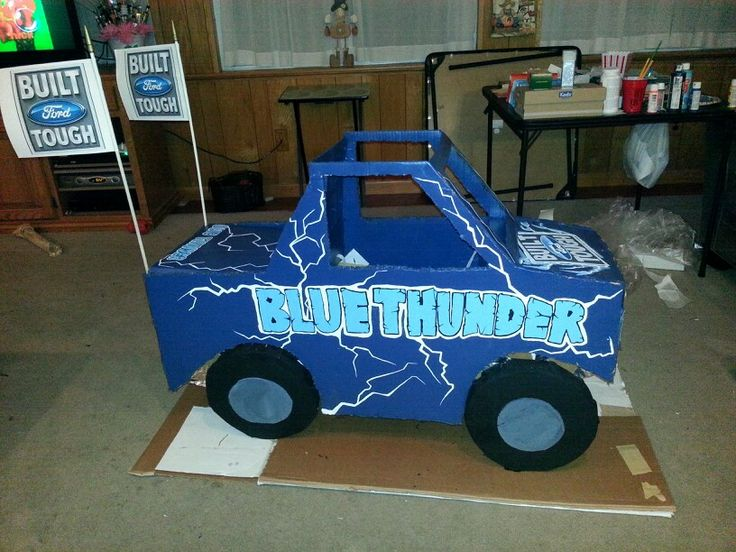 Monster truck Halloween costume