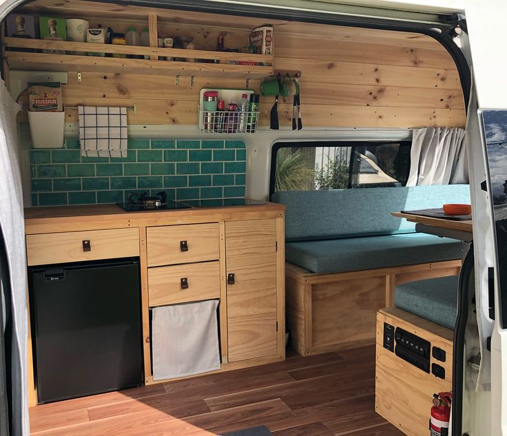 months ago I started building my dream camper and …