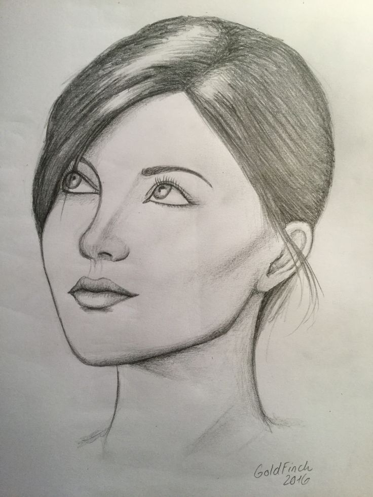 By GoldFinch :3      Female, face, head, portrait, drawing, pencil