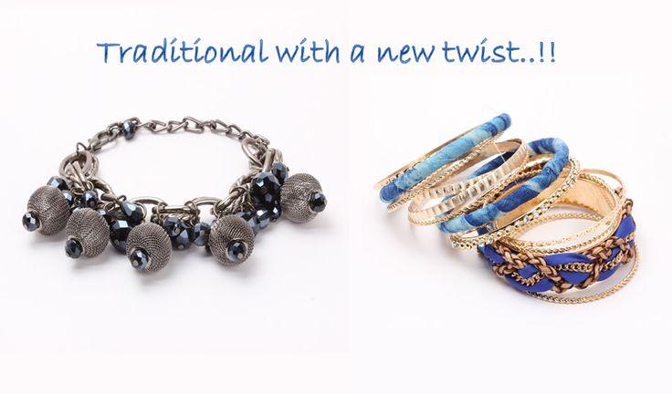 Perfect hands and beautiful wrists supporting fashionable bracelets http://khoobsurati.com/jewellery/bangles-bracelets