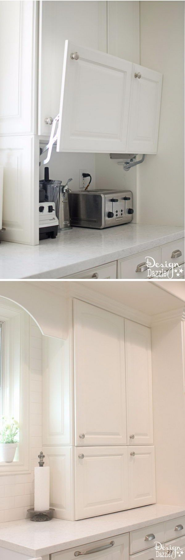 Best 25 hidden storage ideas on pinterest under cabinet for Hidden kitchen storage ideas