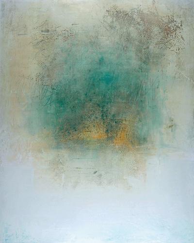 DIANNE MARTIA, mixed media : oil, wax, pigment on board