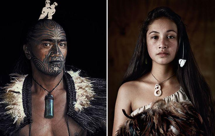 Beautiful Maori - from 10 Astonishing Portraits Of The World's Most Remote Tribes | Guff
