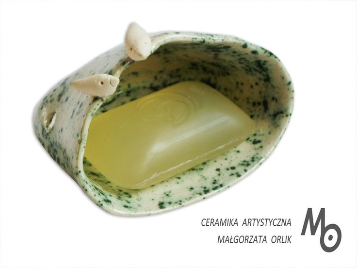 ceramic soap dish Małgorzata Orlik www.ceramika-opole.pl