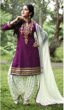 Fuchsia Color Cotton Straight Cut Punjabi Patiyala Suit | FH527679751 #punjabi , #patiyala, #shindhi, #suits, #narrow, #dresses, #salwar, #kameez, #straight, #long, #heenastyle, #indian, #online, #shopping, #clothing, #womens, #girls, #style, #mode, #henna, #hina, #mehendi, #dupatta, #chudidar, @heenastyle , #pakistani, #readymade