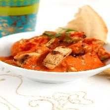 Indisk gryta med Quorn, cashewnötter och ingefära - Recept - Tasteline.com (gott - men mindre honung, MKT mer krydda)