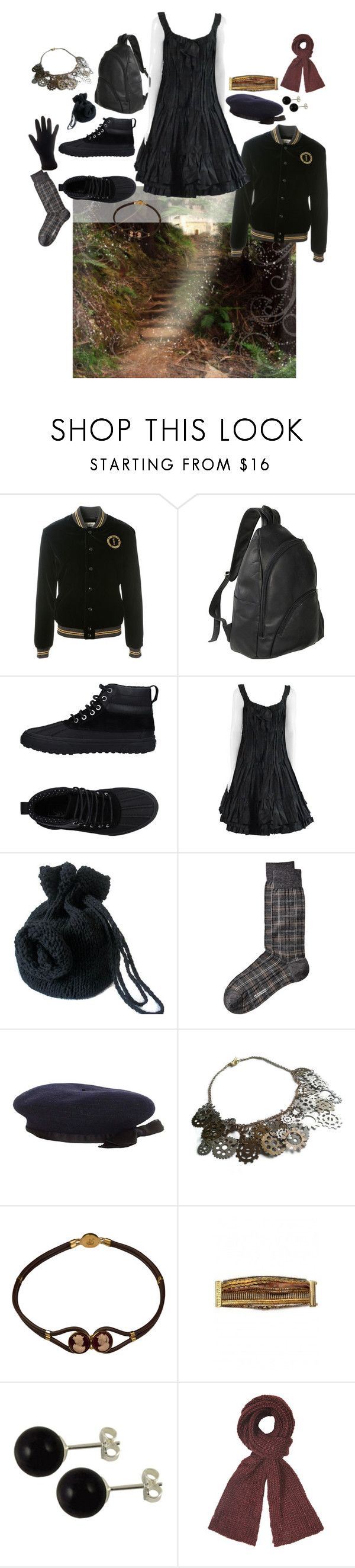 """Got a scarf"" by amanda-anda-panda ❤ liked on Polyvore featuring Yves Saint Laurent, Le Donne, Vans, Oscar de la Renta, Chanel, Hipanema and Dorothy Perkins"