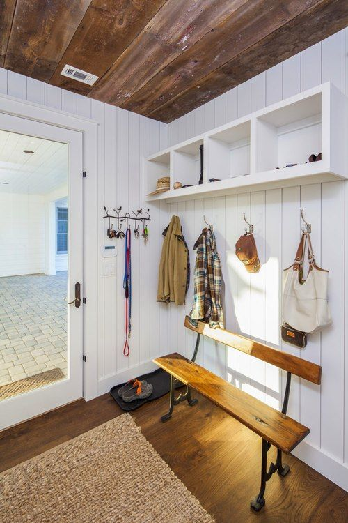 1000 images about farmhouse entryway mudroom for Modern farmhouse mudroom