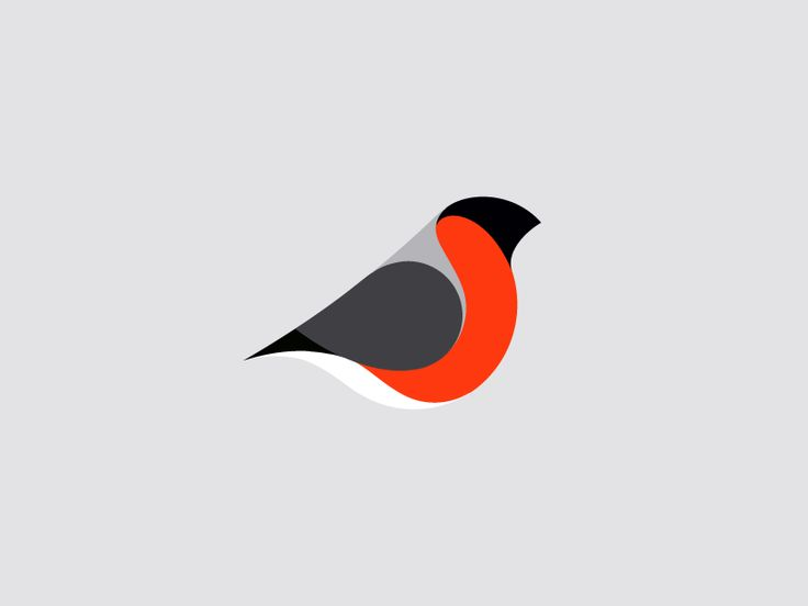Bullfinch mark by Ivan Bobrov #Design Popular #Dribbble #shots