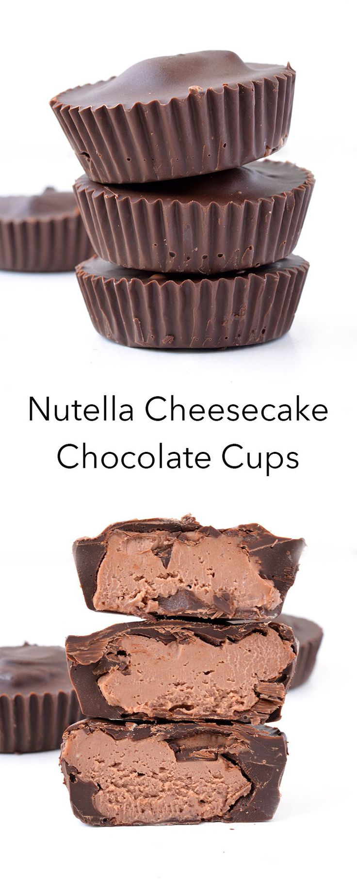 Nutella Cheesecake Chocolate Cups Mary Ashenfelter