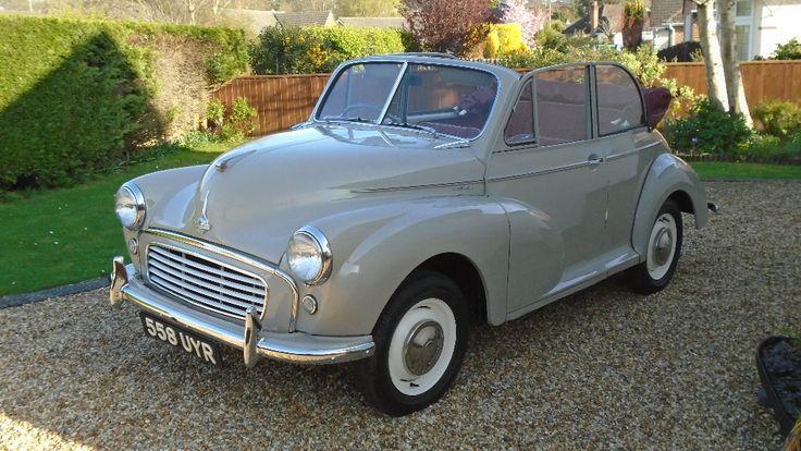 Lot 36 - A 1955 Morris Minor split screen factory tourer, registration number 558 UYR, Sandy beige.