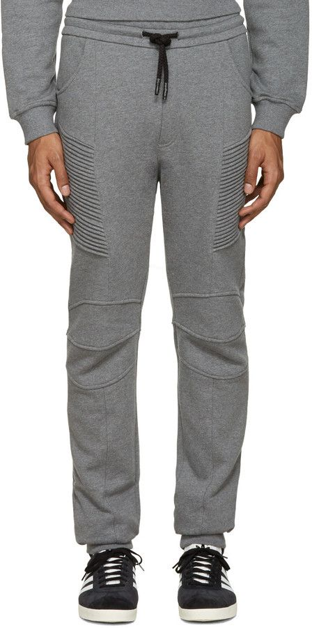 ... Men\u0027s Sleepwear by yourclothescom. See more. Pierre Balmain Grey Biker  Lounge Pants