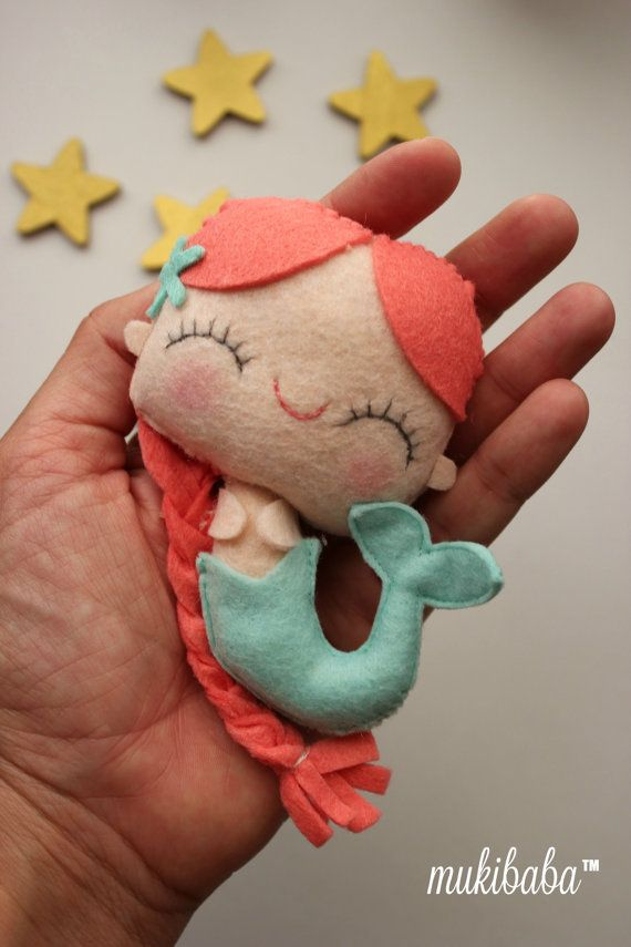 Hey, I found this really awesome Etsy listing at https://www.etsy.com/ca/listing/291533455/the-little-mermaid-plushie-kawaii