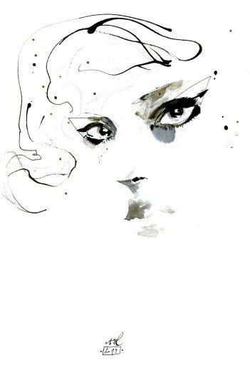 Anna Halarewicz Fashion Illustration