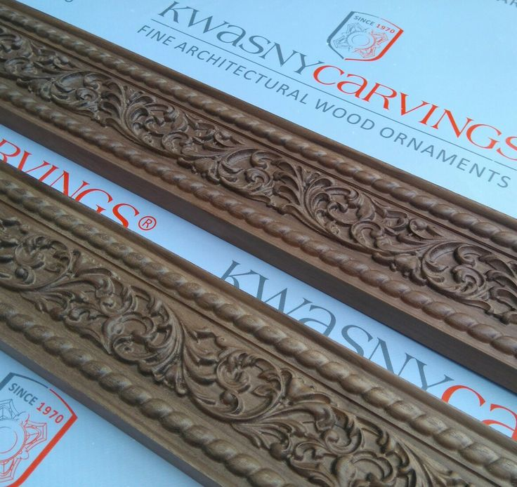Wood carved moldings