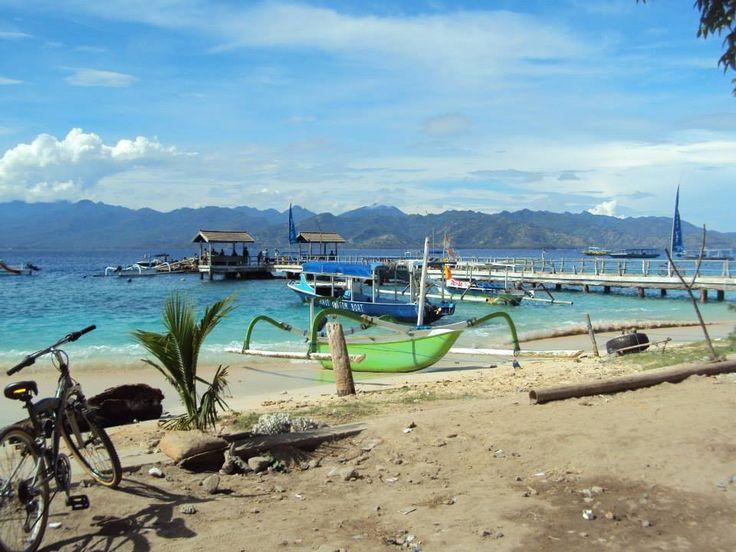 #Bali #beach #Boats